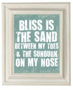 the beach is my home x