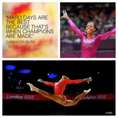 Gabby Douglas via Fédération Internationale de Gymnastique - Google+