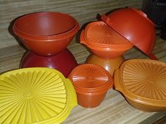 Tupperware was a part of my child hood.
