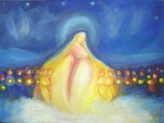 Waldorf Painting Star Mother by YasminaDecor