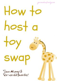 What an awesome way to save money & get new things for the kids!!   Read the steps that this Mom takes to organize a swap and how it works!
