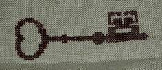Free key cross stitch