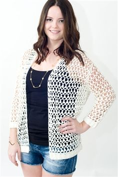 The absolute BEST summer cardigan/bathing suit cover-up! www.pinkslateboutique.com