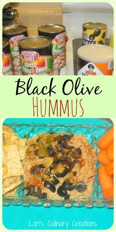 Homemade Black Olive Hummus on MyRecipeMagic.com. If you love olives, you'll love this. If you want some added kick to it, add some cayenne. It really takes the flavor to the next level.