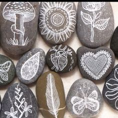 Story Stones....almost too pretty to play with!!!