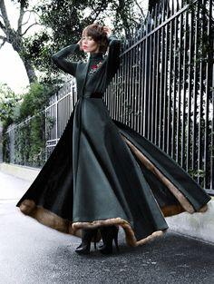 Venus In Furs @Ulyana Sergeenko @Dior