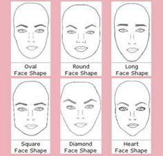 eyebrow, face shape