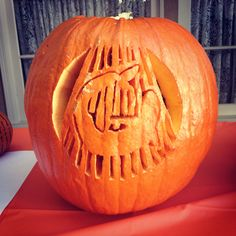 The OWOO Logo from our office pumpkin carving contest. Happy Halloween!