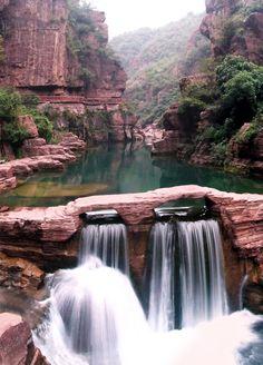 Yuntai Mountain, Henan, China