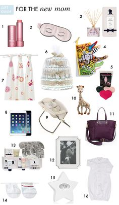 Gifts for the New Mom or Mom to Be. Sure I'll take an iPad mini!!!
