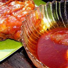 Big Al's K.C. Bar-B-Q Sauce Allrecipes.com---- one of our favorite bbq sauces!