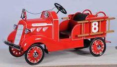 firetruck pedal car