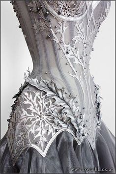 Armored bodice dress