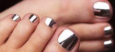 metallic nail polish!
