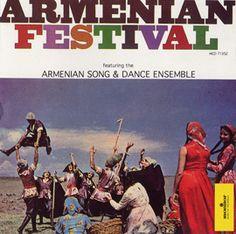 "Armenian Festival (CD edition) by Armenian Song and Dance Ensemble - Armenian Festival features a capella choral performances such as ""Gutani Yerg,"" richly orchestrated pieces like ""Anun Arratutchian,"" and straightforward folk songs like ""Khekch Marti,"" where solo-singing is accompanied by the tar."