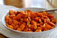 Roasted Sweet Potatoes  (Side Dish, THM, E)