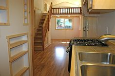 tiny homes, stair, interior wall, tini hous, molecul tini, tiny houses, house interiors, loft, small hous