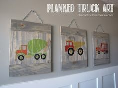Planked Truck Art - The Contractor Chronicles