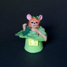 """Annalee Dolls """"Wee Lil Luck Mouse"""""""