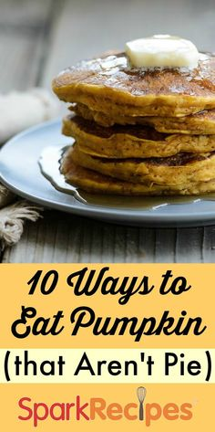 YAY for fall food!! Get pumped for #pumpkin season with these 10 #healthy #recipes. (PS--none of them involve pie!) | via @SparkPeople #fall #recipe #healthyeating #diet #weightloss