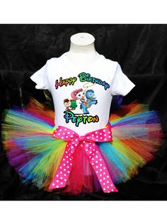 Sheriff Callie Tutu Birthday Outfit Costume Tutu and Top Included on Etsy, $12.00
