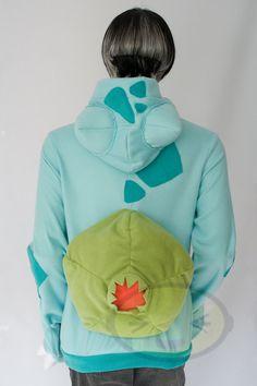 Bulbasaur Vest Costume Pokemon by lemonbrat on Etsy, $187.00