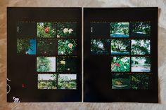 laure joliet photo. old proof sheets.