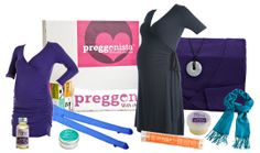 Preggonista: Monthly Subscription Box includes Fashion and Beauty Products especially for Pregnant Women