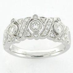 Wide Band Wedding Rings   Wedding Rings