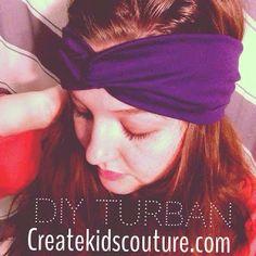 DIY Knit Turban
