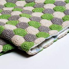 Crochet Pattern Unisex Reversible Baby Blanket by SweetCrocheterie,