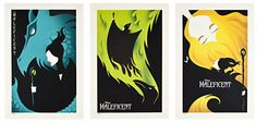 Maleficent Lithograph Set - Limited Edition