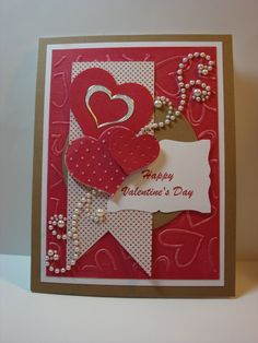 Card: Happy Valentines Day - Scrapbook.com
