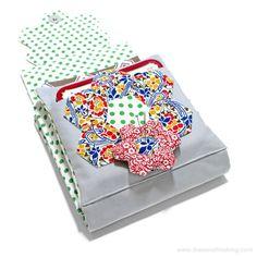 Tutorial: Pincushion for English Paper Piecing Travel Kit | The Zen of Making