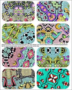 Altoid Tin lid covers - free to download by davis.jacque, via Flickr