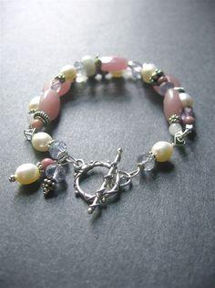 Gemstone Beaded Bracelet. Beaded Bracelet. by SimpleElementsDesign
