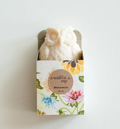 Patchouli & Rose Soap - NOCTURNALIA Owl Soap - Natural, Handmade, Cold Processed, Vegan. http://www.etsy.com/shop/seventhtreesoaps