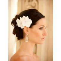 $120 Catherine Flowers  Justine M Couture, Wynn Austin Collection, hair flower