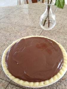 Gluten Free Dairy Free Chocolate Pie recipe!