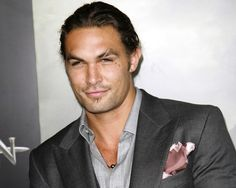 Jason Momoa, also known as Khal Drogo from Game of Thrones