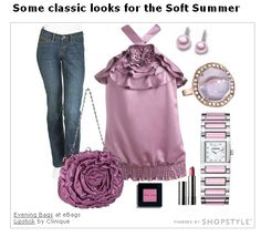 Soft Summer clothing examples - Cute! <3  | url: http://www.prettyyourworld.com/the-soft-summer.html