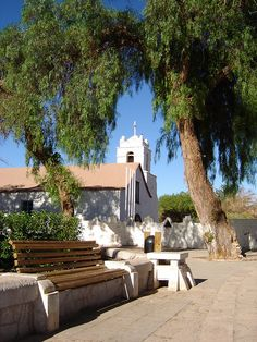 Plaza de San Pedro de Atacama by .