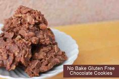 No Bake Gluten Free Chocolate Cookies