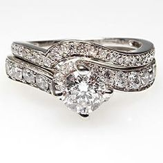 vintage rings, wedding rings, white gold, bridal sets, the band, engagement rings