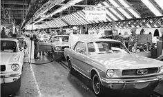 1965 Ford Mustang Ford Rouge Assembly plant line