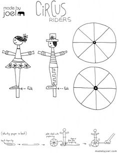 Made by Joel Circus Riders Kids Craft Right Handed