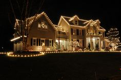 Holiday Lights to see on our Froelich Express ride