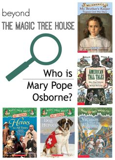 Help kids learn about a favorite author. Our #RaiseaReader blog starts with Mary Pope Osborne, author of The Magic Tree House series. Click for more.