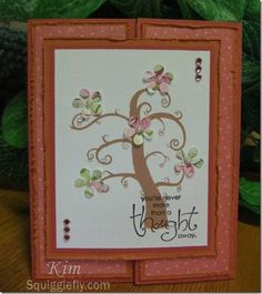 Squigglefly Challenge #41 by kimr - Cards and Paper Crafts at Splitcoaststampers