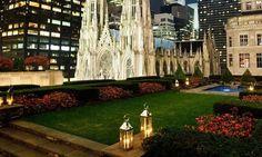 Rockefeller rooftop garden